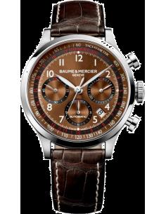 Chic Time | Montre Homme Baume & Mercier Capeland MOA10083 Marron  | Prix : 3,790.00