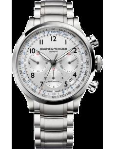 Chic Time | Montre Homme Baume & Mercier Capeland MOA10064 Argent  | Prix : 3,790.00