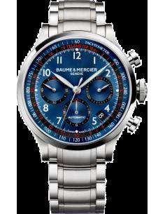 Chic Time | Montre Homme Baume & Mercier Capeland MOA10066 Argent  | Prix : 3,790.00