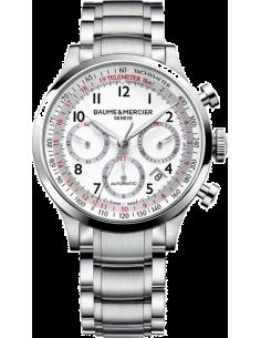 Chic Time | Montre Homme Baume & Mercier Capeland MOA10061 Argent  | Prix : 3,790.00