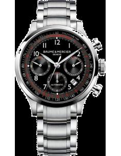 Chic Time | Montre Homme Baume & Mercier Capeland MOA10062 Argent  | Prix : 3,790.00