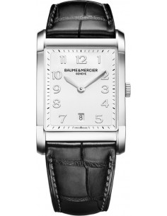 Chic Time | Montre Homme Baume & Mercier Hampton MOA10154 Noir  | Prix : 1,540.00