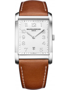 Chic Time | Montre Homme Baume & Mercier Hampton MOA10153 Marron  | Prix : 1,390.00