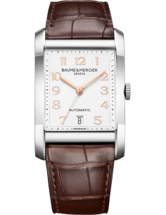 Chic Time | Montre Homme Baume & Mercier Hampton MOA10156 Marron  | Prix : 2,249.00