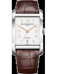 Chic Time | Montre Homme Baume & Mercier Hampton MOA10156 Marron  | Prix : 2,249.00