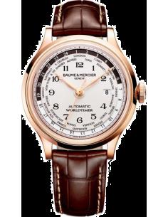 Chic Time | Montre Homme Baume & Mercier Capeland MOA10107 Marron  | Prix : 17,499.00