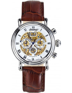 Chic Time | Montre Homme Ingersoll Classic IN2700WH Marron  | Prix : 359,00 €
