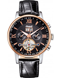 Chic Time   Montre Homme Ingersoll Archive IN6900RBK Noir    Prix : 349,00€