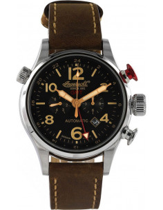 Chic Time | Montre Homme Ingersoll Active Watches IN3218BK Marron  | Prix : 359,00 €