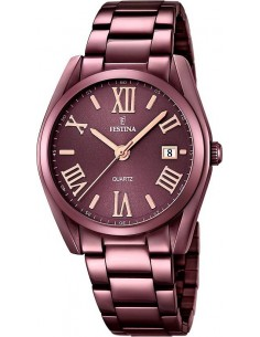 Chic Time | Montre Femme Festina Boyfriend F16865/1 Marron  | Prix : 149,00 €