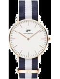 Montre Mixte Daniel Wellington Classic Glasgow 0503DW Bicolore blanc et bleu