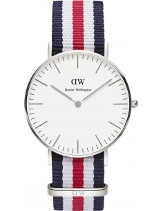 Chic Time | Montre Daniel Wellington Classic Canterbury DW00100051 Tricolore  | Prix : 83,40 €
