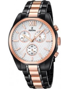 Chic Time | Montre Homme Festina F16856/1 Or Rose  | Prix : 279,00 €