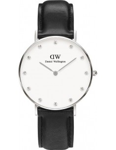 Chic Time | Montre Daniel Wellington Classy St Mawes 34 mm DW00100080 Noir  | Prix : 101,40 €