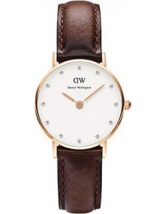 Chic Time | Montre Femme Daniel Wellington Classy Bristol DW00100062 Marron  | Prix : 77,40 €