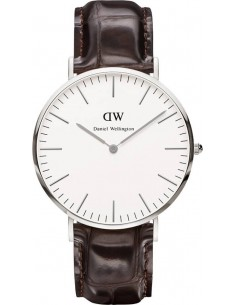 Chic Time | Montre Homme Daniel Wellington Classic York 0211DW Marron  | Prix : 113,40 €