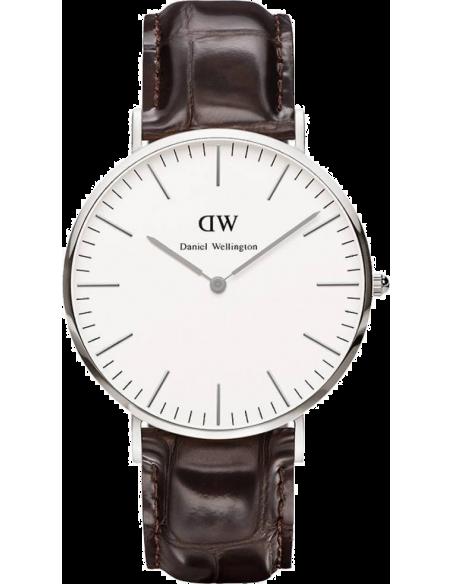 Chic Time | Montre Homme Daniel Wellington Classic York 0211DW Marron  | Prix : 113,40€