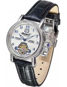 Chic Time | Montre Femme Ingersoll Sapphire IN4910WH Noir  | Prix : 299,00 €