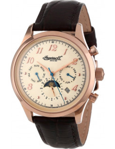 Chic Time | Montre Homme Ingersoll IN1203RWH Marron  | Prix : 299,00€