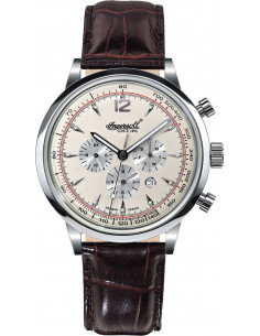 Chic Time | Montre Homme Ingersoll Classic IN2809WH Marron  | Prix : 299,00€