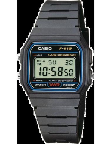 Chic Time | Casio F-91W-1YEF Unisex watch  | Buy at best price