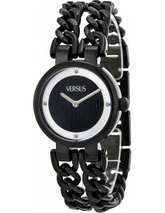 Chic Time | Montre Femme Versus by Versace SGR060013 Noir  | Prix : 329,00€