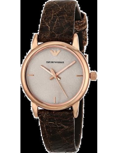 Chic Time | Montre Femme Emporio Armani AR1813 Marron  | Prix : 219,00€