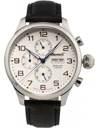 Chic Time | Montre Homme Ingersoll Classic IN3900SL Noir  | Prix : 329,00€