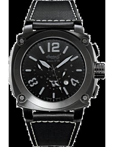 Chic Time | Montre Homme Ingersoll Bison IN4103BBKB Noir  | Prix : 269,00€