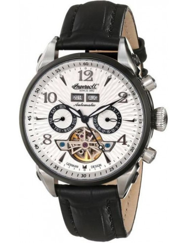 Chic Time | Montre Homme Ingersoll Classic IN4512WHBK Noir  | Prix : 329,00€