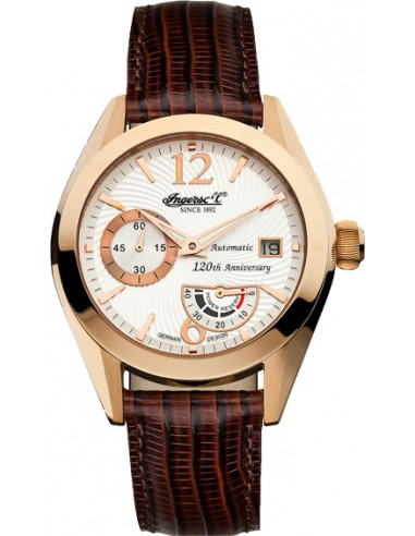 Chic Time | Montre Homme Ingersoll Classic IN8015RWH Marron  | Prix : 389,00 €