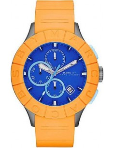 Chic Time | Montre Homme Marc by Marc Jacobs MBM5545 Orange  | Prix : 99,60 €