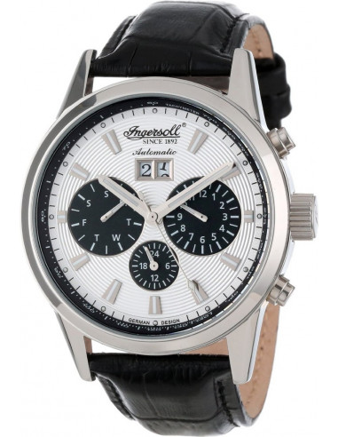 Chic Time | Montre Homme Ingersoll Classic IN1214SL Noir  | Prix : 249,00€