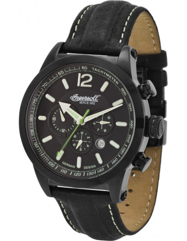 Chic Time | Montre Homme Ingersoll Active Watches IN3220BBK Noir  | Prix : 199,00 €