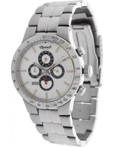 Chic Time | Montre Homme Ingersoll IN3200WH Argent  | Prix : 199,00 €