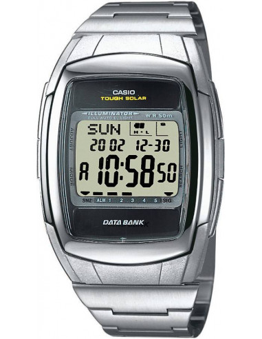 Chic Time | Montre Homme Casio Data Bank DB-E30D-1AVEF Noir  | Prix : 58,00 €