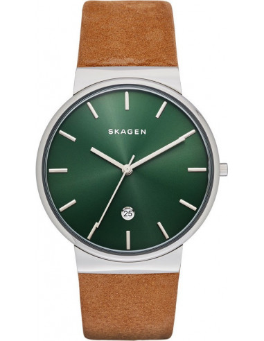 Chic Time | Montre Homme Skagen Ancher SKW6183 Marron  | Prix : 160,00 €