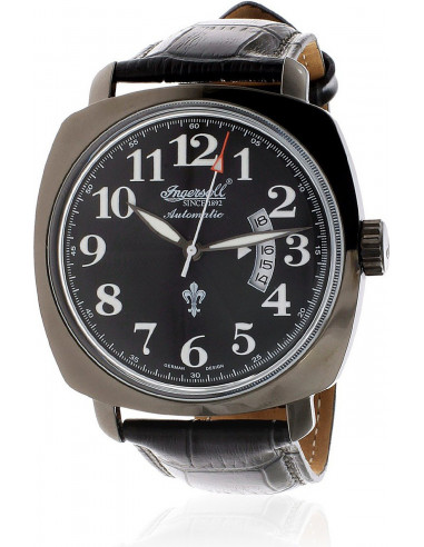 Chic Time   Montre Homme Ingersoll Classic IN1002BBK Noir    Prix : 199,00€