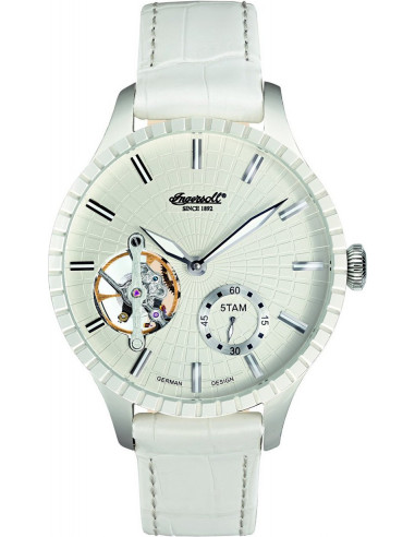 Chic Time | Montre Homme Ingersoll Classic IN7219WH Blanc  | Prix : 199,00€