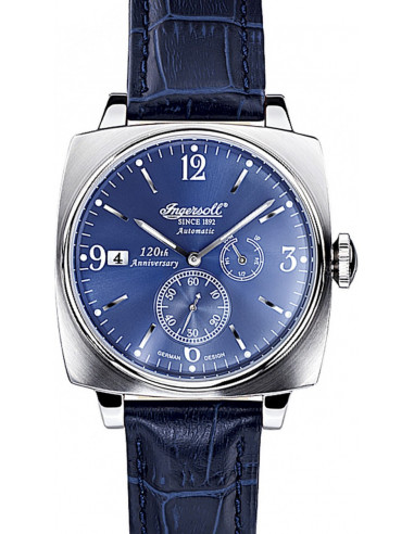 Chic Time | Montre Homme Ingersoll Classic IN8014BL Bleu  | Prix : 179,00€