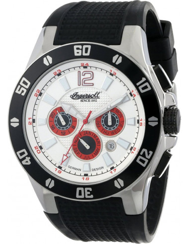 Chic Time | Montre Homme Ingersoll Classic IN3221WH Noir  | Prix : 179,00€