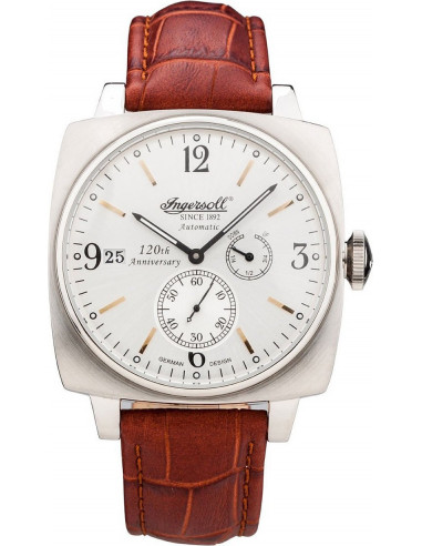 Chic Time | Montre Homme Ingersoll Classic IN8014SL Marron  | Prix : 199,00€