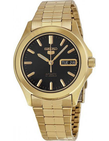 Chic Time | Montre Homme Seiko 5 SNKL02 Or  | Prix : 319,00€