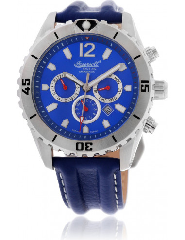 Chic Time | Montre Homme Ingersoll Active Watches IN1508BL Bleu  | Prix : 199,00€