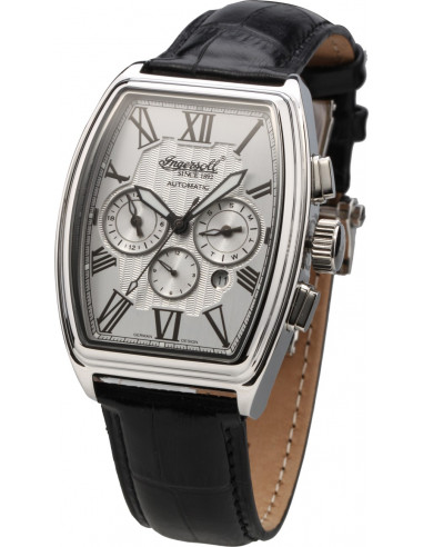 Chic Time | Montre Homme Ingersoll Classic IN3607SL Noir  | Prix : 199,00€