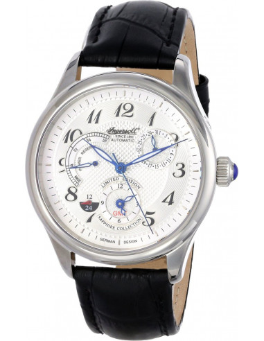 Chic Time | Montre Homme Ingersoll Sapphire IN8410WH Noir  | Prix : 369,00€