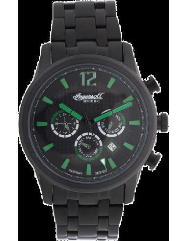 Chic Time | Montre Homme Ingersoll Active Watches IN3222BBK Noir  | Prix : 199,00€