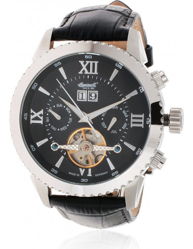 Chic Time | Montre Homme Ingersoll Classic IN1708SBK Noir  | Prix : 229,00 €