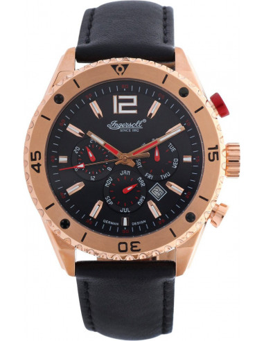 Chic Time | Montre Homme Ingersoll Classic IN3219RBK Noir  | Prix : 429,00€