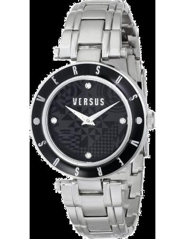 Chic Time | Montre Femme Versus by Versace Logo SP8090014 Noir  | Prix : 249,00€